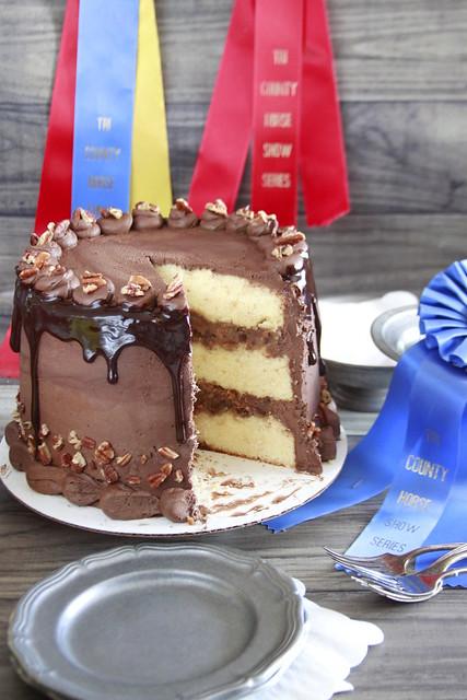 Derby Pie Cake