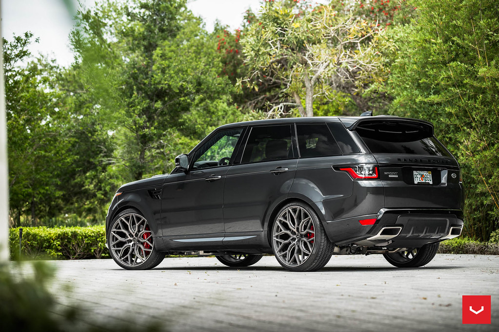 vossen 24 hybrid forged hf 2 wheel range rover sport. Black Bedroom Furniture Sets. Home Design Ideas