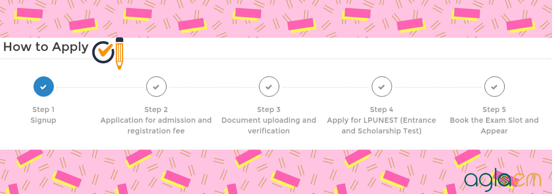 LPUNEST 2019 Application Form