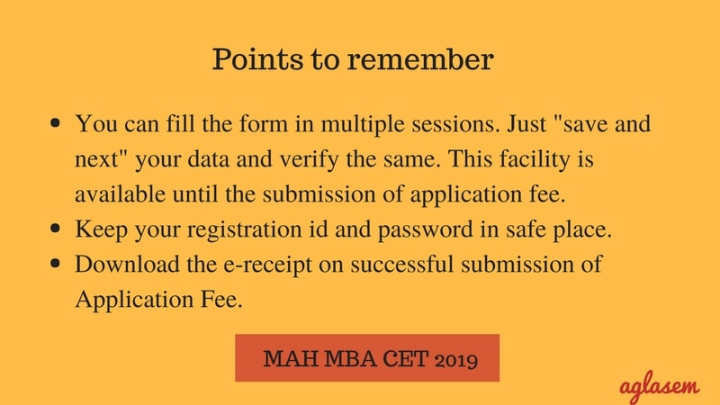 MAH MBA CET 2019 Registration- Application Form, Fee, Eligibilty  %Post Title, %Post Category, AglaSem