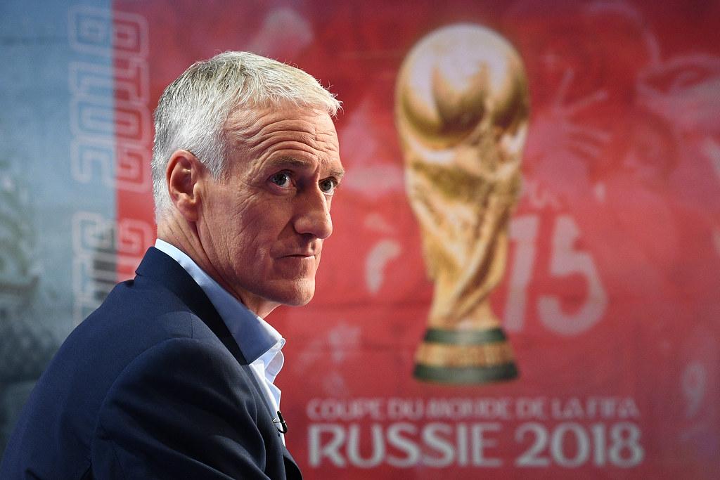 Didier Deschamps沒有私下通知Dimitri Payet無法前進世界盃。(AFP授權)