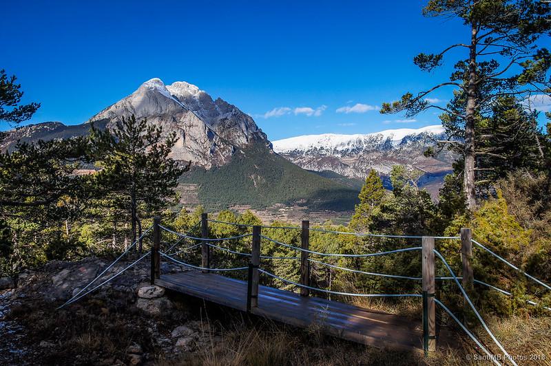El Pedraforca y el puente de l'Espinal