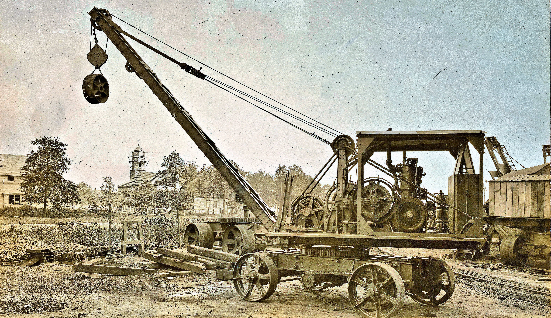 Thew Type 00 traction crane c.1918 [5670 x 3270]