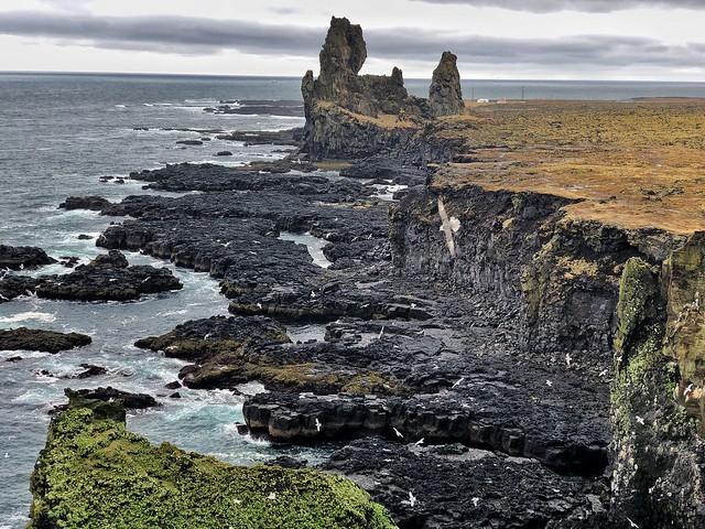 Pufubjarg (Snaefellsnes, Islandia)