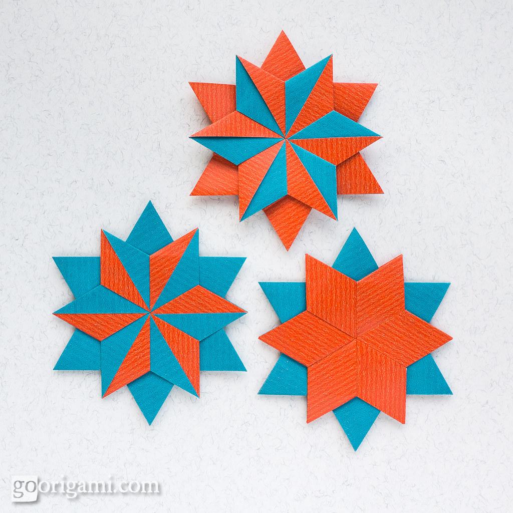 Modular Origami Stars   Modular Origami Stars (Maria ... - photo#25