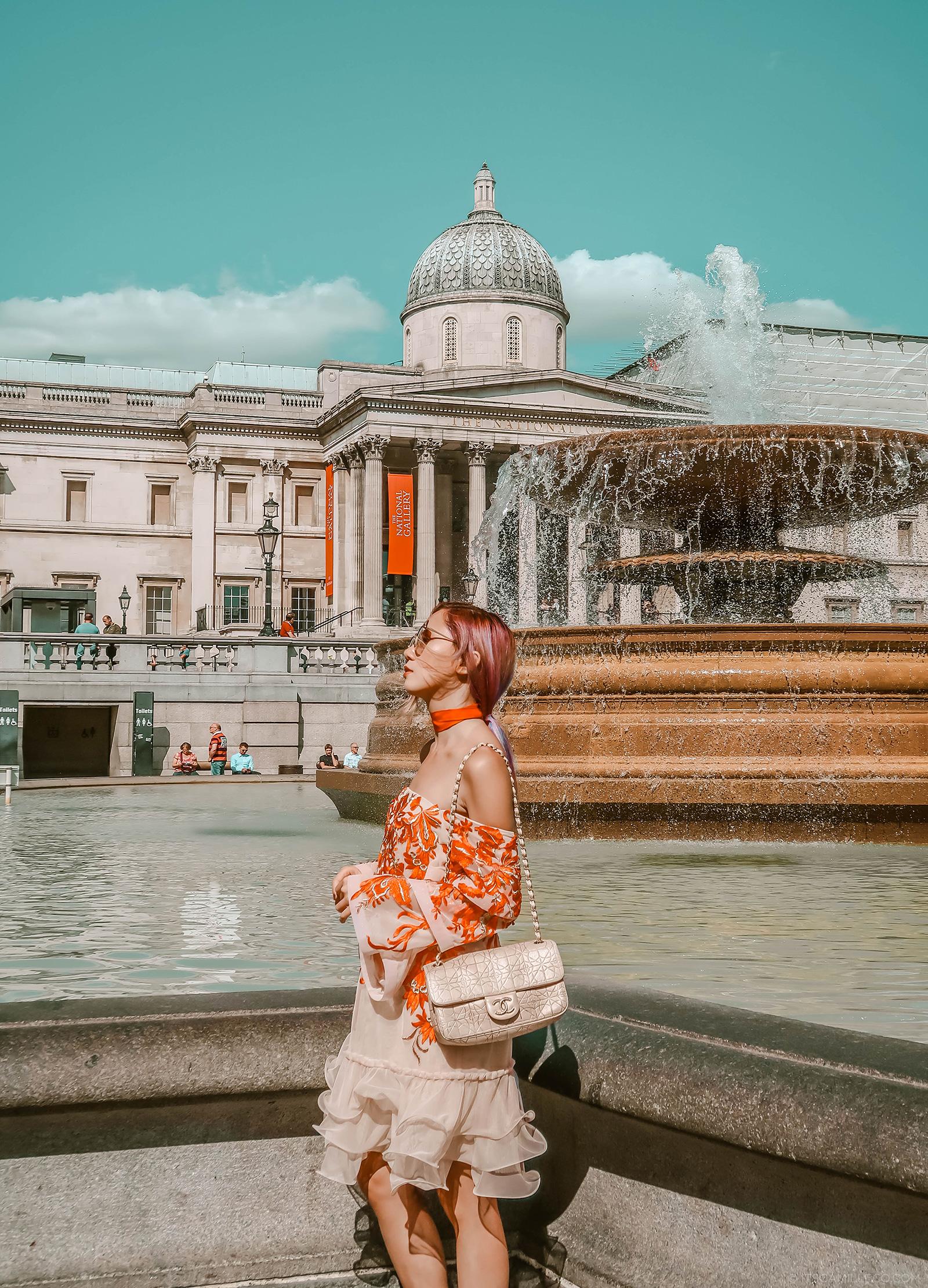 Trafalgar Square - Camille Co
