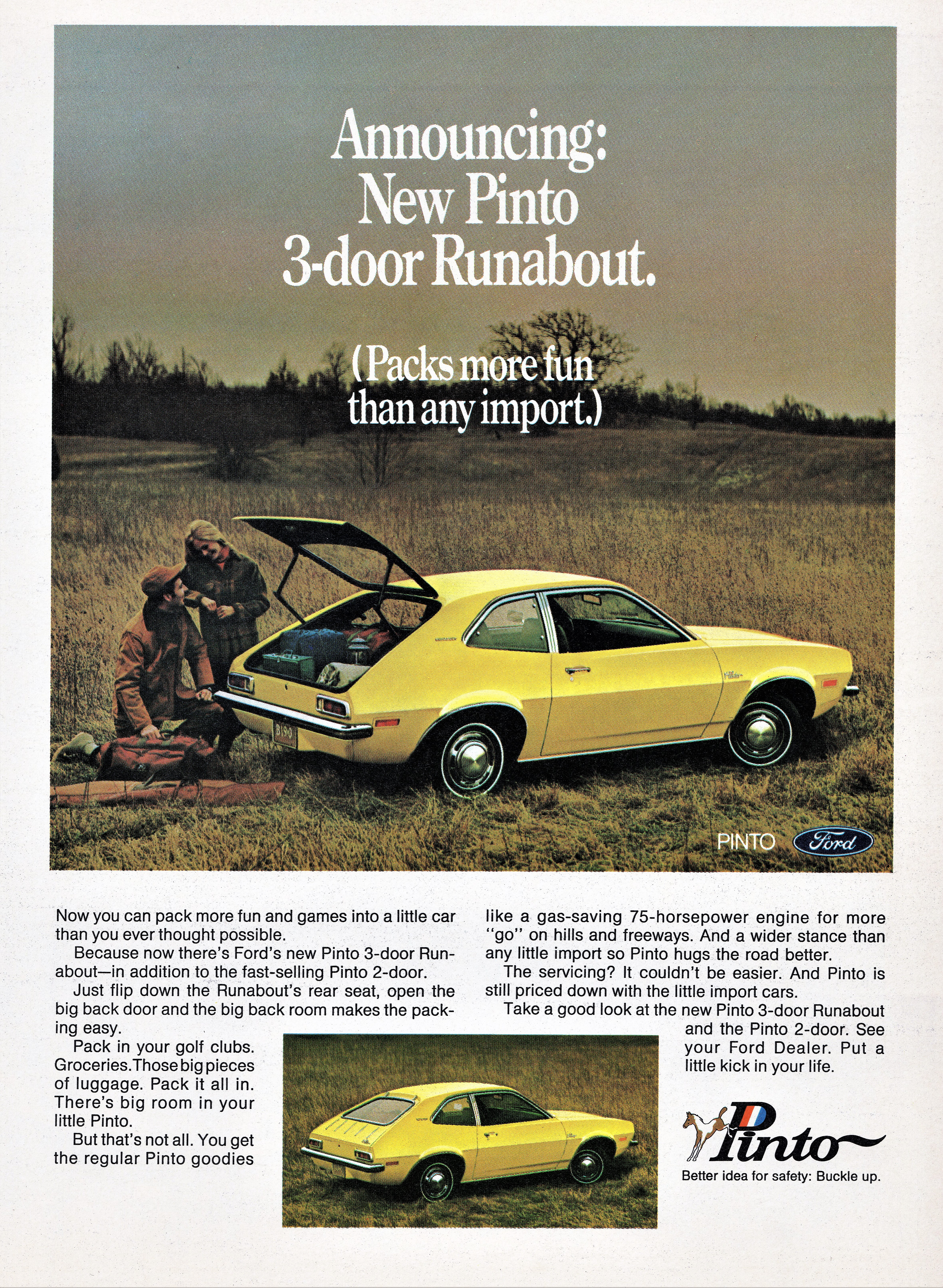1971 Ford Pinto 3-Door Runabout
