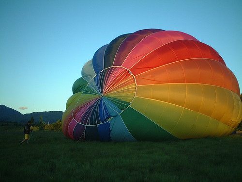 Balloon inflation | by grahammclellan