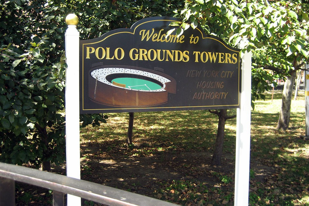 Nyc Harlem Polo Grounds Towers The Fourth And Final