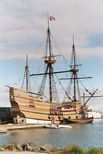 The Mayflower II, Plymouth, MA | by rjcox