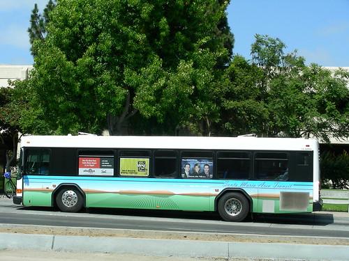 Smat Gillig A Low Floor Gillig Bus Of Santa Maria Area