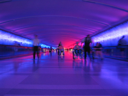 The Tunnel at Detroit Airport (DTW) | by Moody75