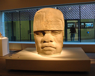 De Young Museum - Olmec head | by Marshall Astor - Food Fetishist