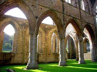 Tintern Abbey | by flash of light