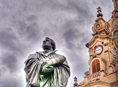 Martin Luther visits Dresden | by chop1n