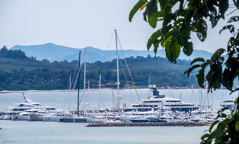 Ao Por Grand Marina by the Phanga Bay, Phuket, Thailand