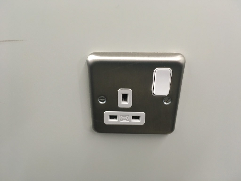 British electrical outlet with switch | Eric Fischer | Flickr