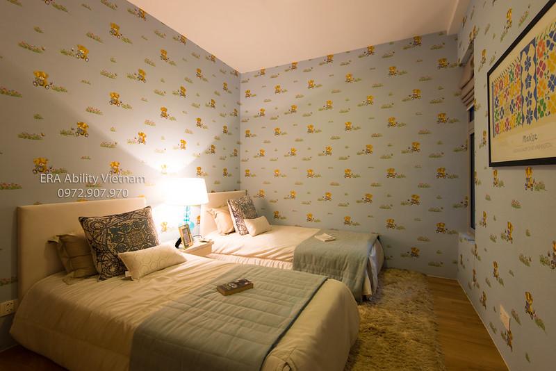 Căn hộ mẫu 3 phòng ngủ Kenton Node