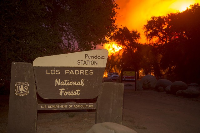 Pendola Station in Los Padres National Forest