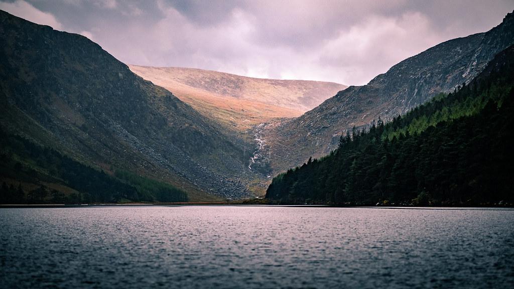 Upper Lake Glendalough Ireland Landscape Photography