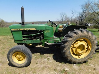 1964 John Deere 2010 gas tractor | by thornhill3