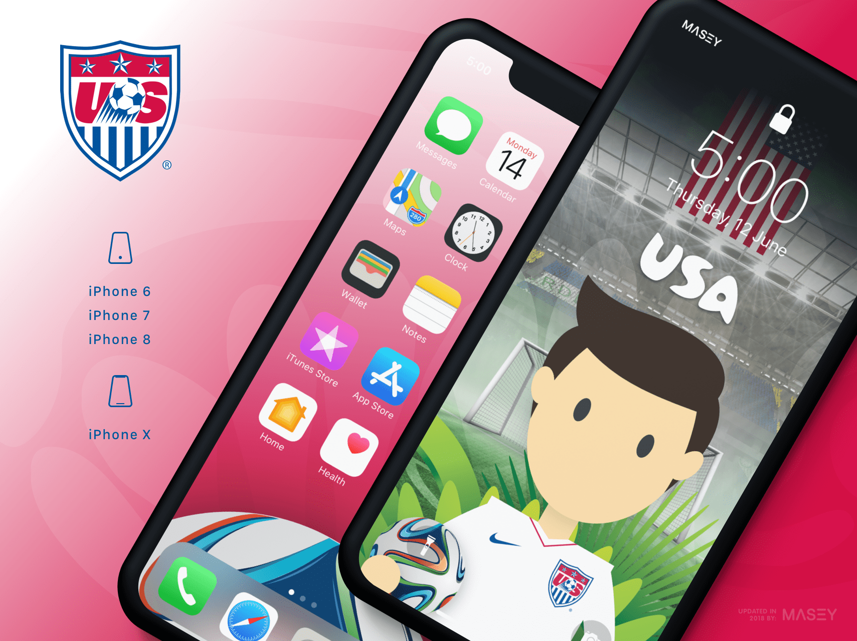 Team USA iPhone Wallpaper