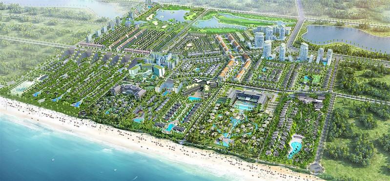 Phối cảnh tổng thể Sonasea CEO Group Phú Quốc