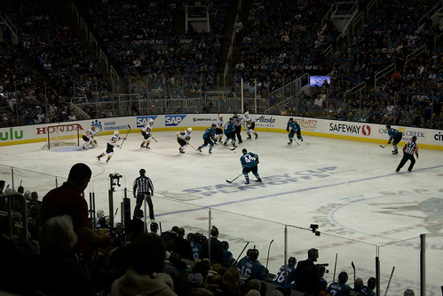 LV Golden Knights v SJ Sharks - Round 2, Game 3 Playoffs | by pdweinstein