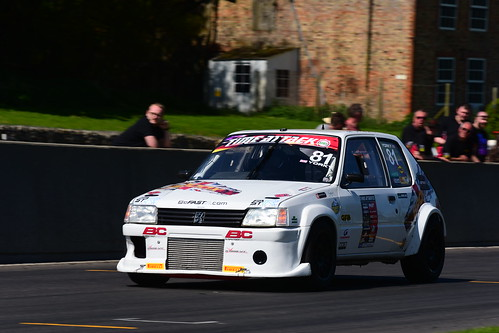 Andy York, Peugeot 205, Time Attack, Cadwell Park 2018