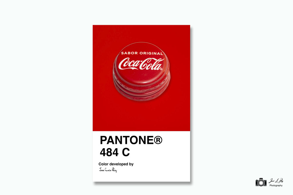 Image result for pantone 484 coca cola