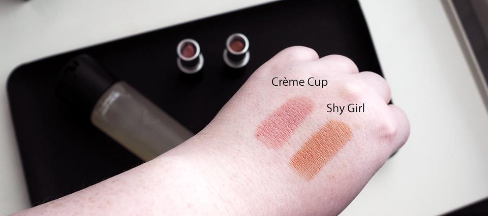 mac shy girl creme cup
