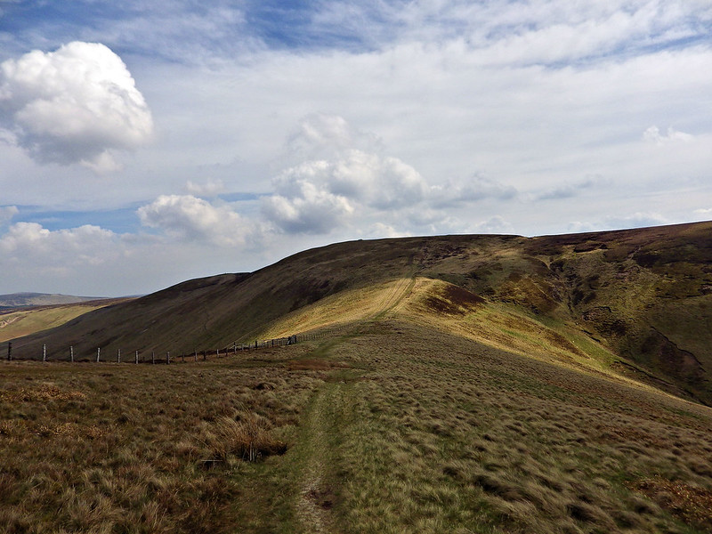 Heading to Windy Gyle