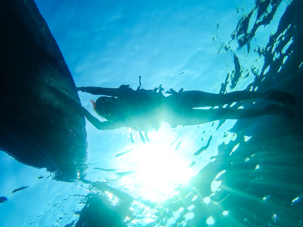 小琉球浮潛SUP海享划島
