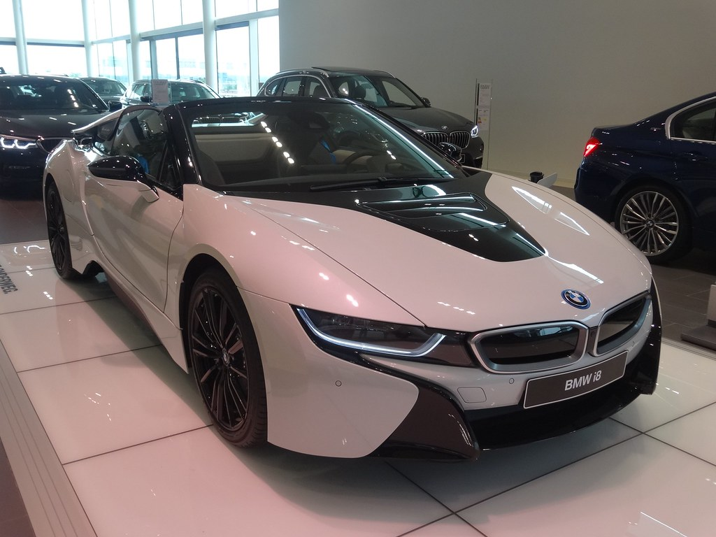 New Bmw I8 Roadster This Is The New Roadster Version Of Th Flickr