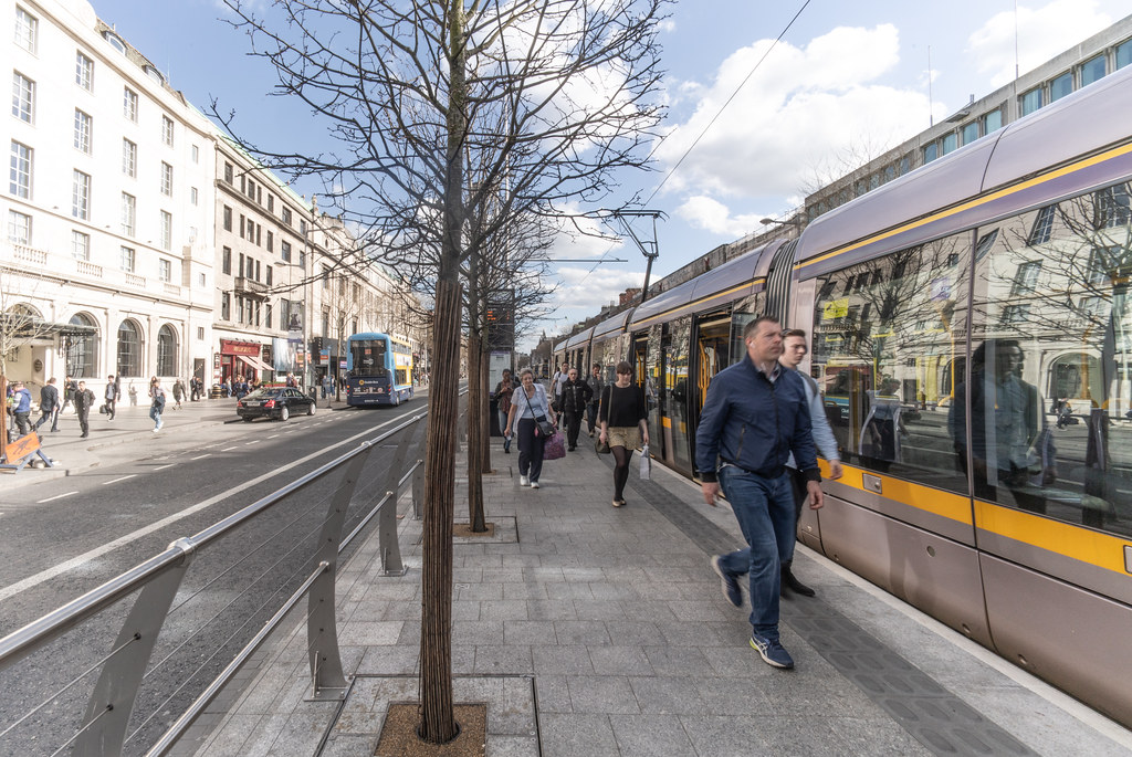 UPPER O'CONNELL STREET  LUAS STOP AND NEARBY 002