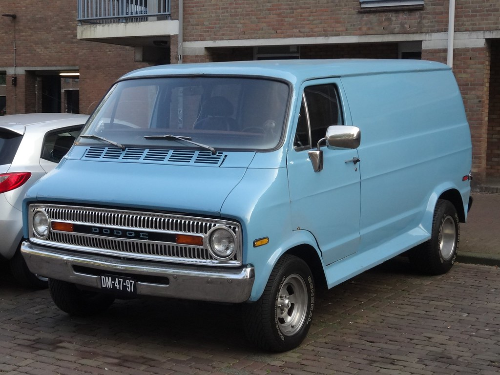 1971 Dodge Tradesman The Dodge Vans From The B Series