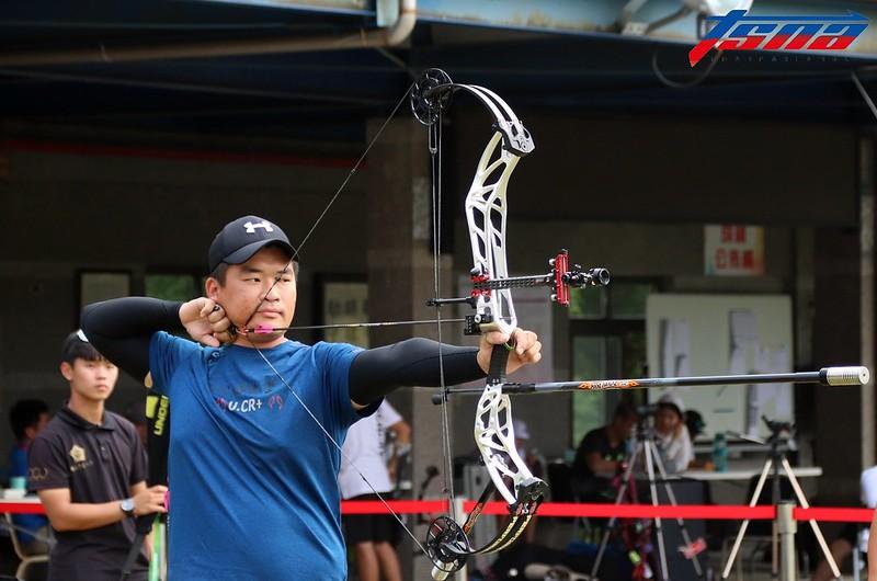 複合弓亞運代表隊選手陳享宣在全大運中拿下個人銅牌、團體銀牌的成績。(林志儒/攝)