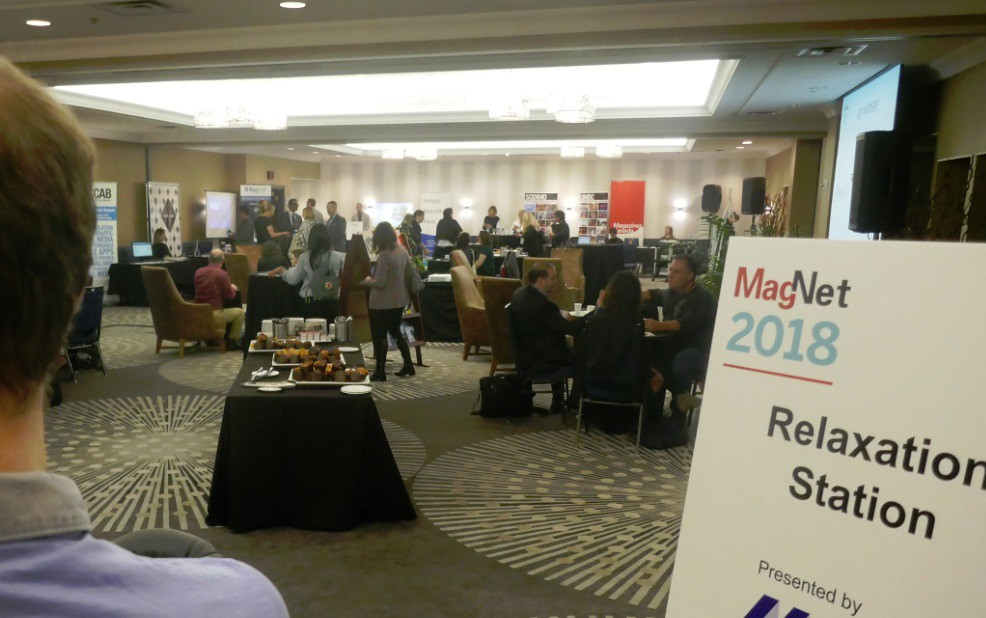 main conference meeting roo, Magnet Square, at MagNet 2018