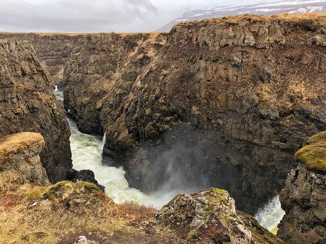 Cañón de Kolugljúfur (Norte de Islandia)