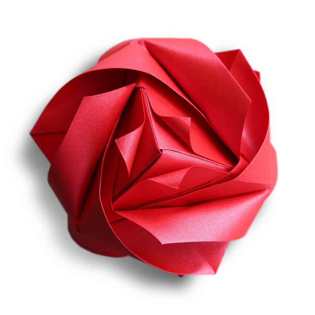 Royal Rose Cube Maria Sinayskaya Learn To Fold This Beau Flickr