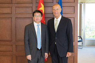 WIPO Director General Meets Vice Mayor of Shanghai | by WIPO | OMPI