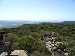 Vue depuis le sommet 469m de Vanga