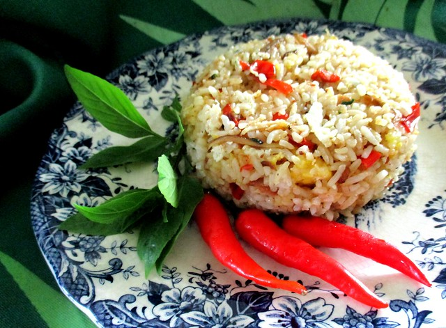 My sambal fried rice