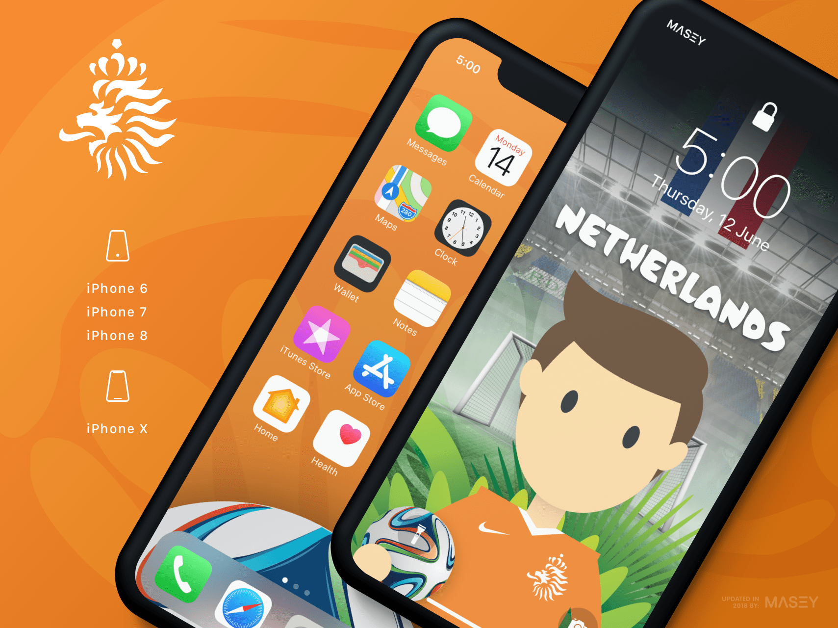 Team Netherlands iPhone Wallpaper