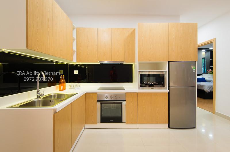 Gian bếp nhà mẫu Celadon City
