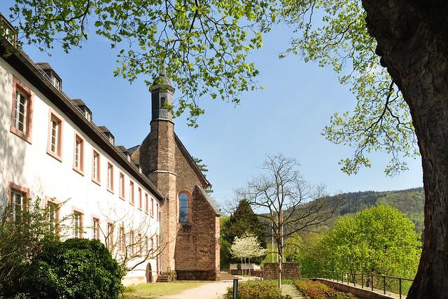 Stift Neuburg Kloster Heidelberg Neckar Natur Kultur April 2018 Foto(s): Brigitte Stolle