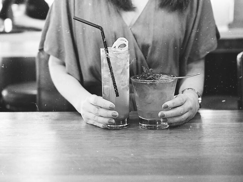 The Tray ravintola drinkit