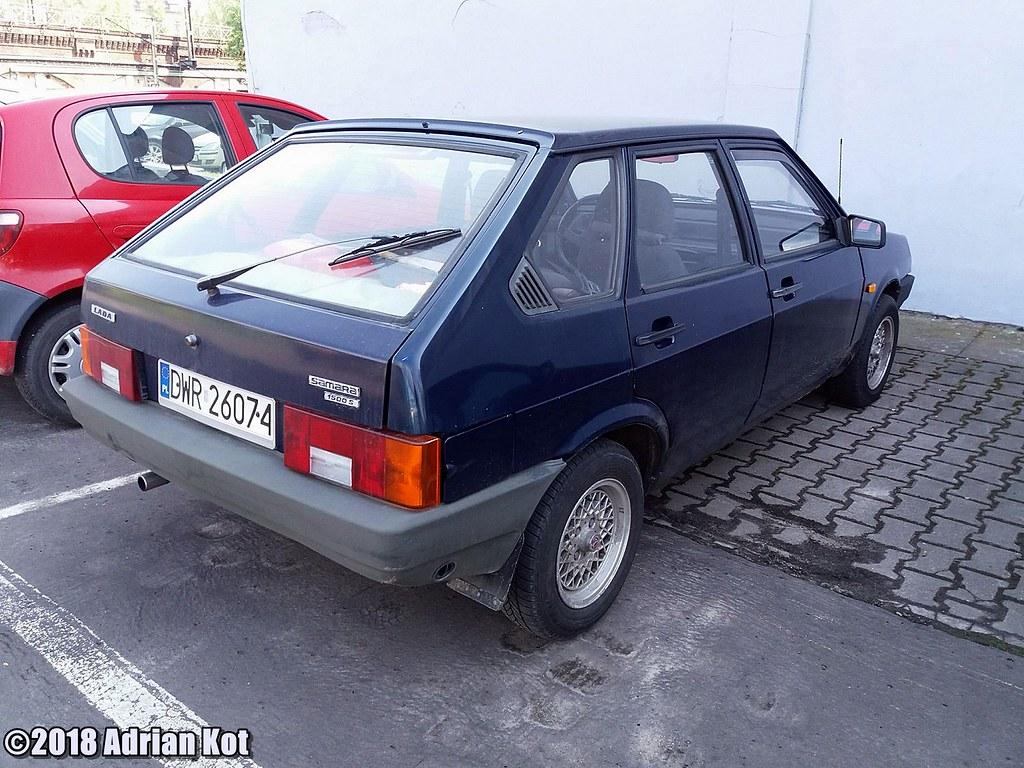 ... VAZ 2109 Lada Samara 1500 S | by Adrian Kot