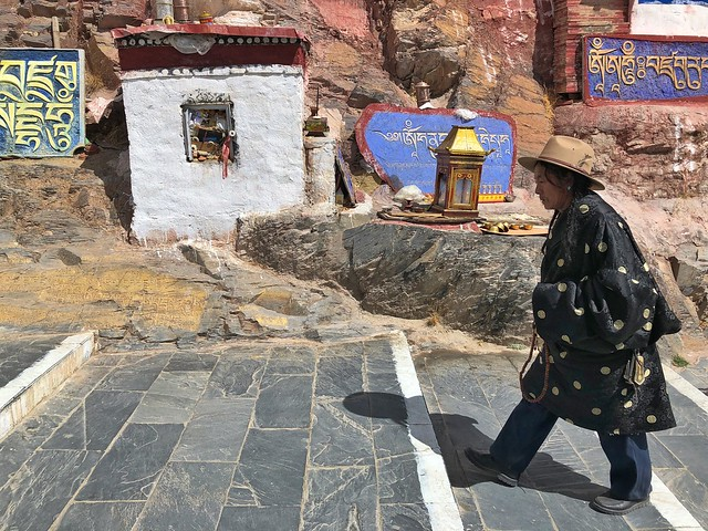 Tibetano en Lhasa (Tíbet)