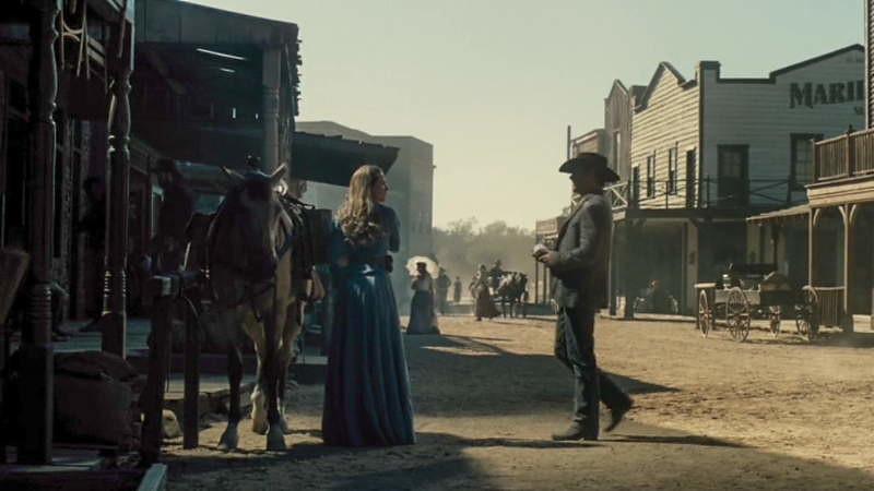 Westworld town